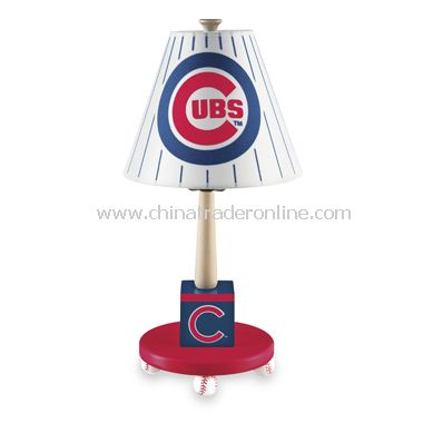 Major League Baseball Cubs Table Lamp