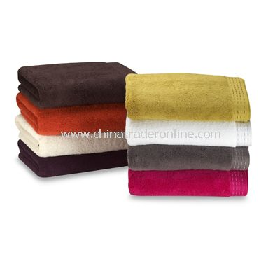 Natori Solid Bath Towels, 100% Cotton