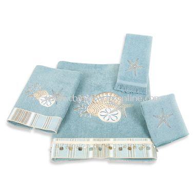 Avanti By The Sea Mineral Bath Towels, 100% Cotton