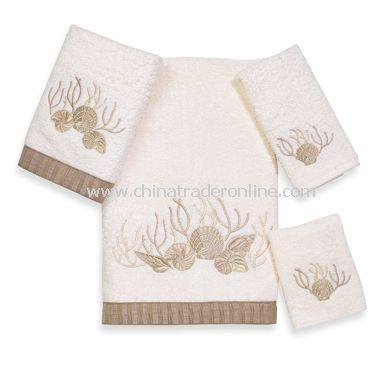 Avanti Premier Sunset Beach Seaglass Bath Towels, 100% Cotton