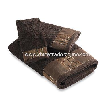 B. Smith Woodlander Bath Towels, 100% Cotton