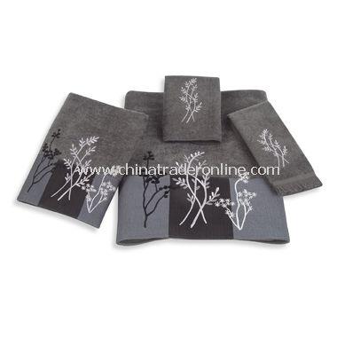 Birkdale Granite Towels by Avanti, 100% Cotton