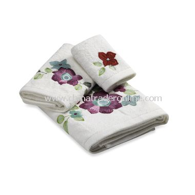 Croscill Retro Floral Bath Towel Collection