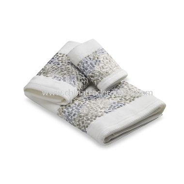 Croscill Spa Tile Bath Towel Collection