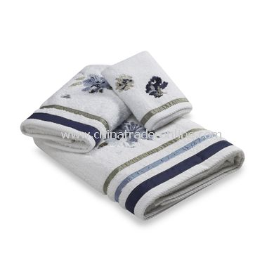 Croscill Watercolor Floral Bath Towel Collection