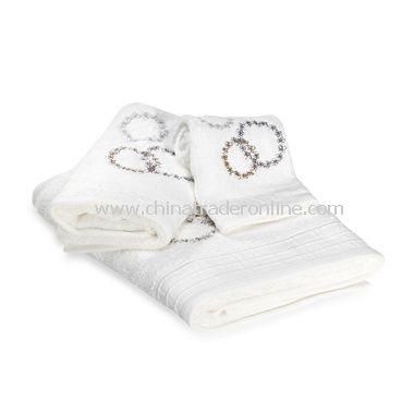 DKNY Home Filigree Bath Towels, 100% Cotton