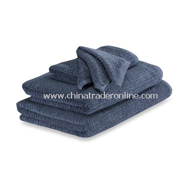 Dri Soft Denim Bath Towels, 100% Cotton