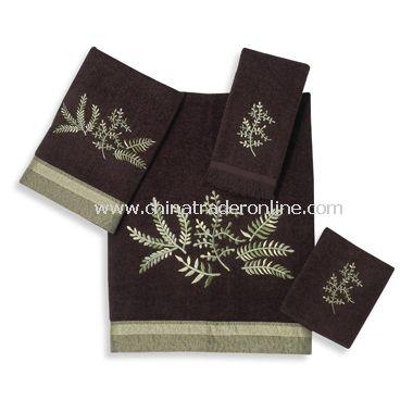 Greenwood Java Towels by Avanti, 100% Cotton