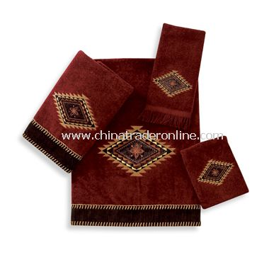 Mohave Brick Towels by Avanti, 100% Cotton
