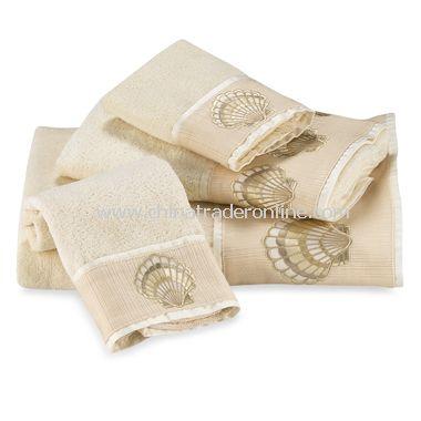 Oceana Ivory Bath Towels