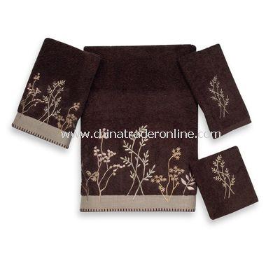 Premier Meadowland Java Bath Towels by Avanti, 100% Egyptian Cotton