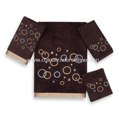 Premier Metric Circle Java Bath Towels by Avanti, 100% Egyptian Cotton