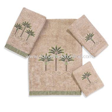 Premier Palm Beach Linen Bath Towels by Avanti, 100% Egyptian Cotton