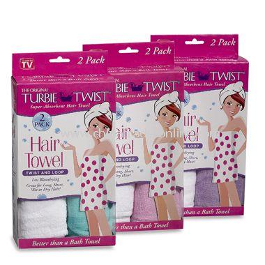 Turbie Twist® Hair Towel (Set of 2)