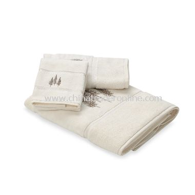 Winter White Bath Towels, 100% Cotton from China