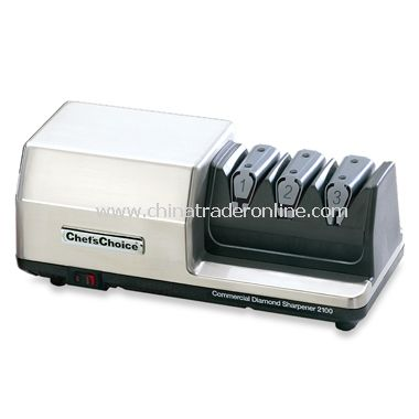 2100 Commercial Diamond Hone 3-Stage Knife Sharpener