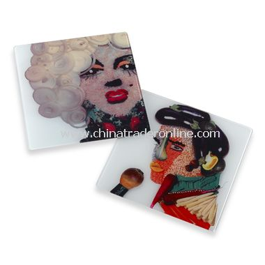 Elvis and Marilyn Kitchen Cutting Boards and Worktop Savers