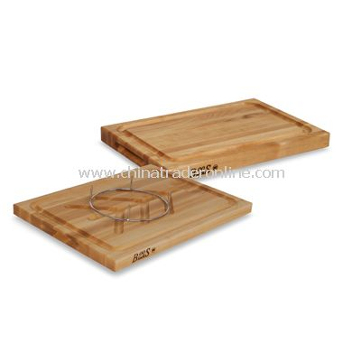 John Boos Professional Reversible Cutting Board with Groove