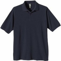 Mens 100% Organic Cotton Pique Polo Shirt from China