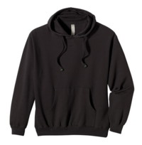 Mens Organic Pull Over Hoody