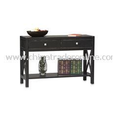 Anna Console Table - Black