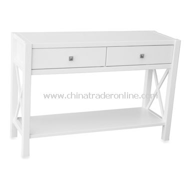 Anna Console Table - White