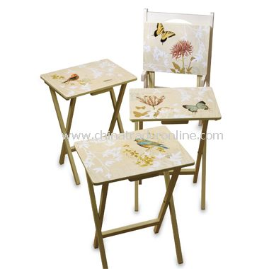 Natures Wonders 5-Piece Snack Table Set