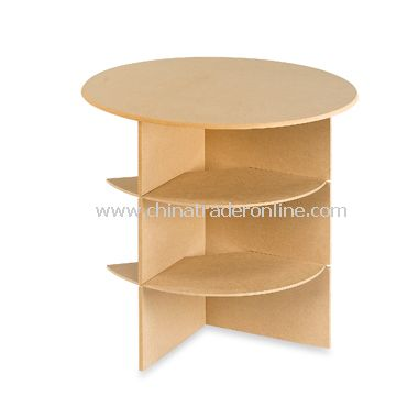 Round Table with Shelves