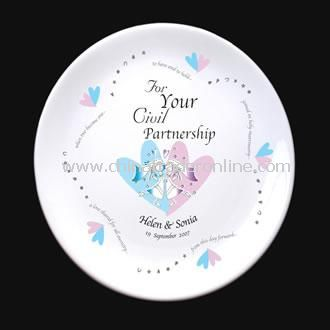 To Have & To Hold Female Civil Partnership Plate