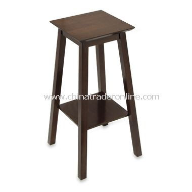Walnut Square Plant Stand/Telephone Table