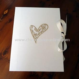 Wedding Keepsake Box Gold Filigree Heart