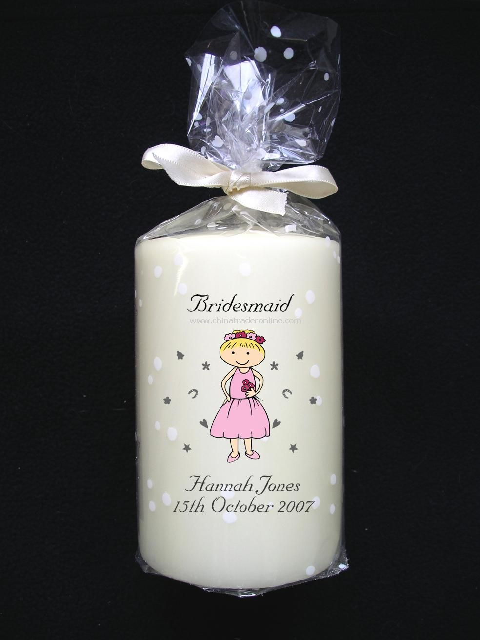Cartoon Character Candle