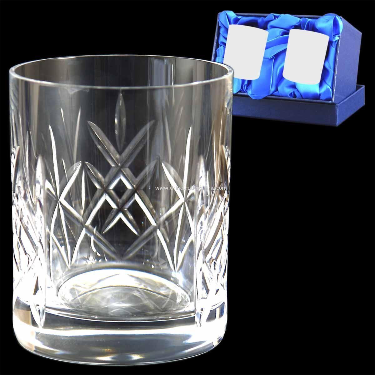 Cut Crystal Whisky Tumble Single