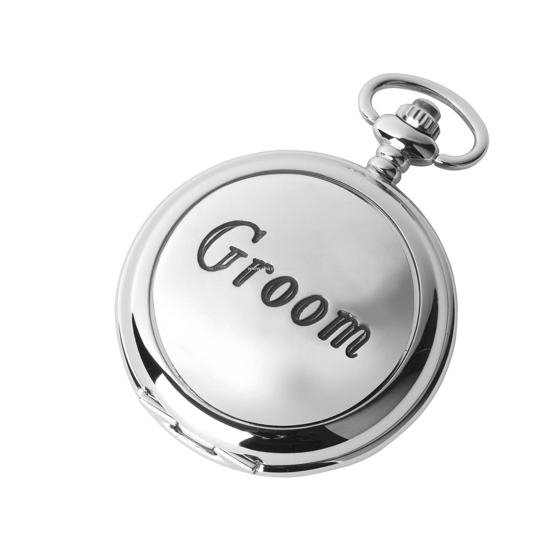 Groom Fob Watch