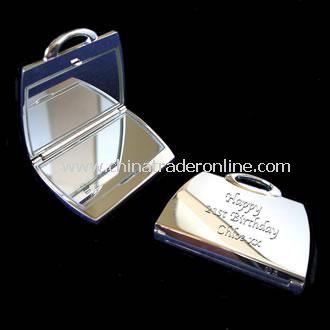 Engraved Handbag Compact