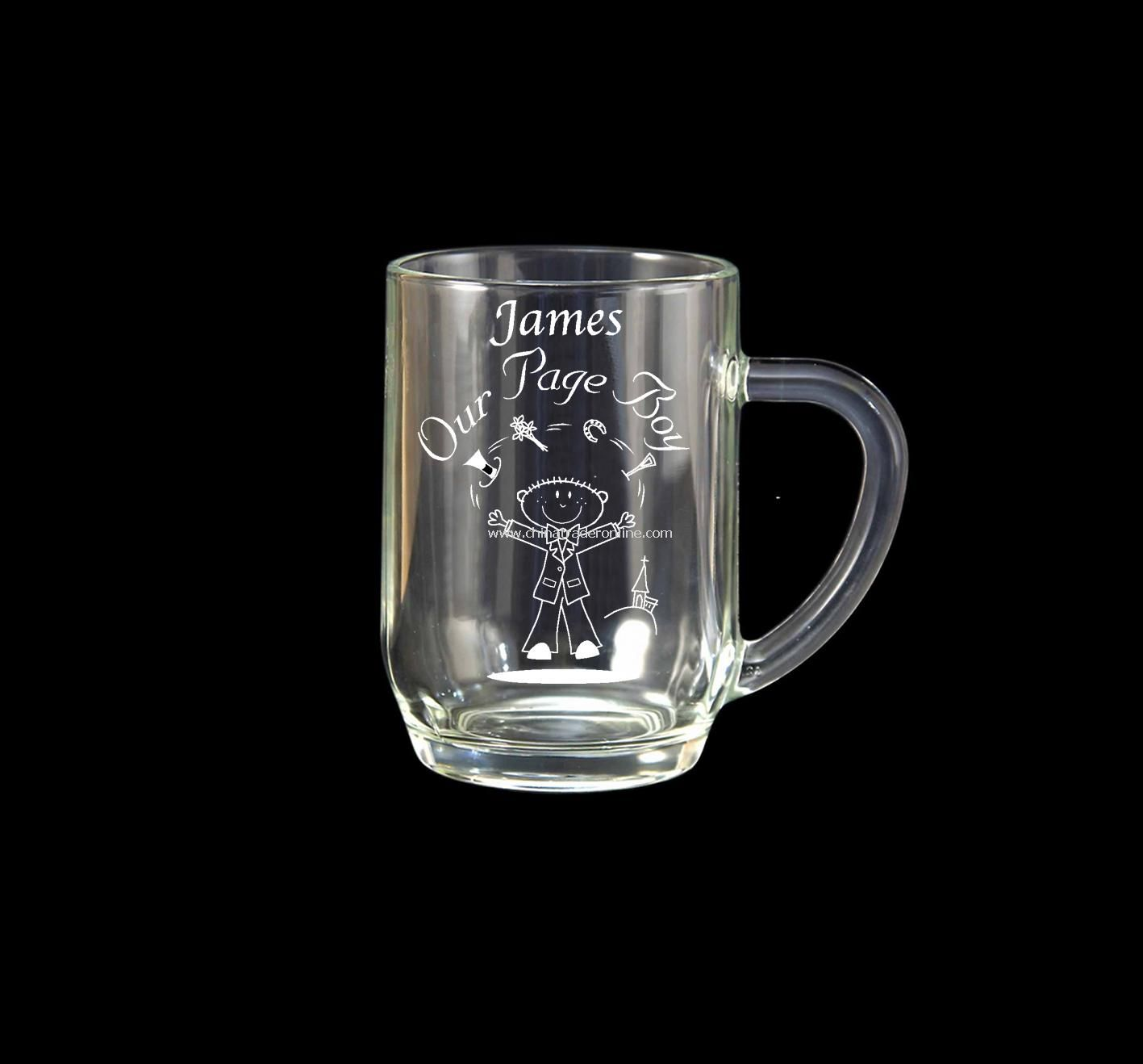 Etched Character 1/2 Pt Tankard