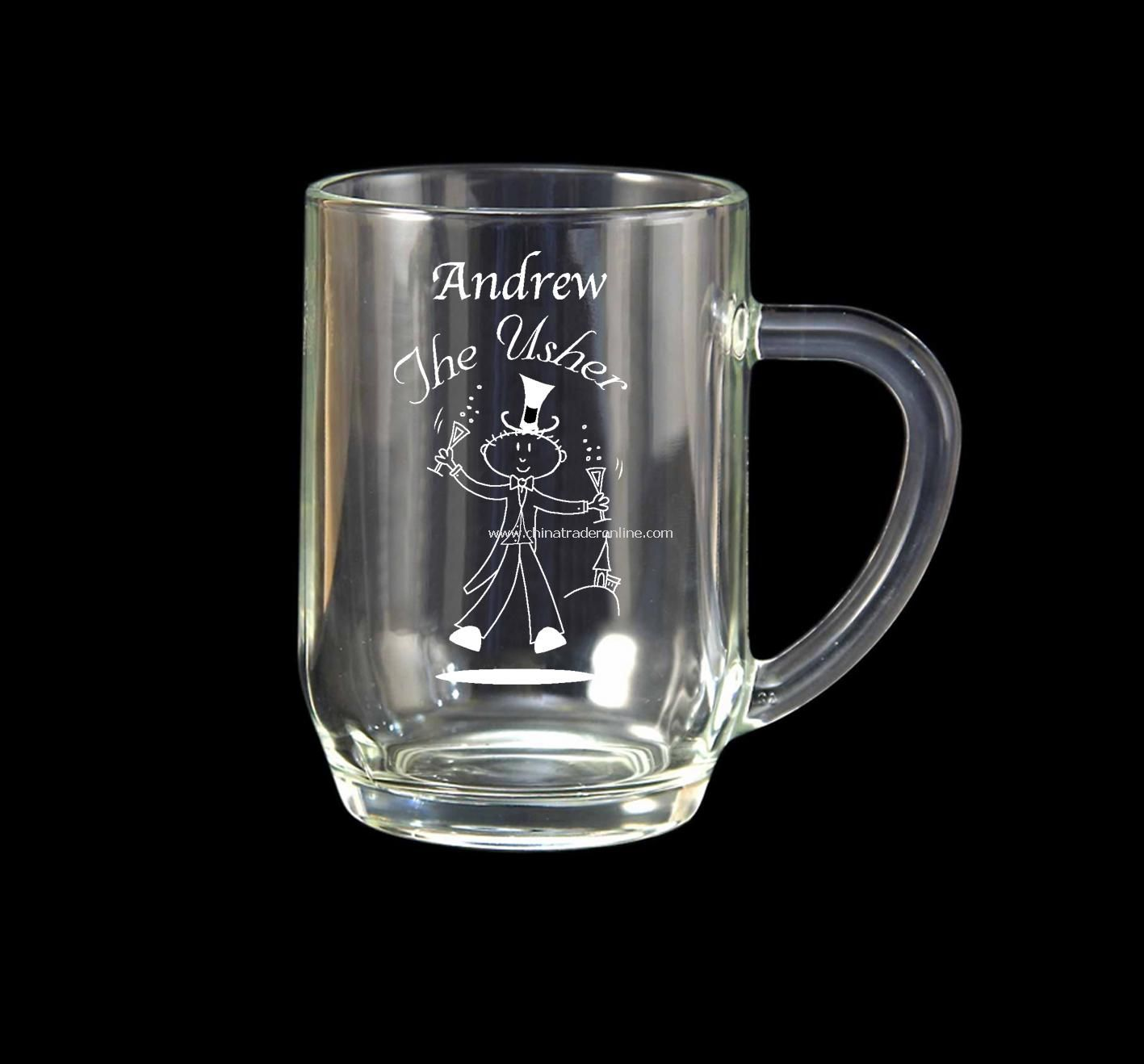 Etched Character Pint Tankard