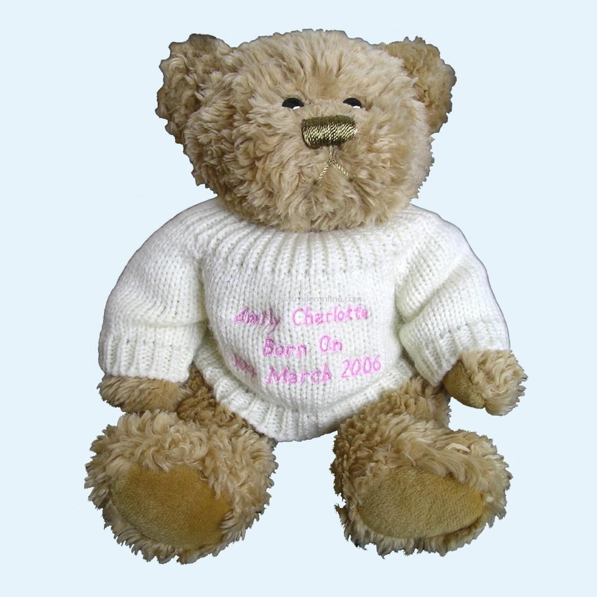 Little Teddy Message Bear