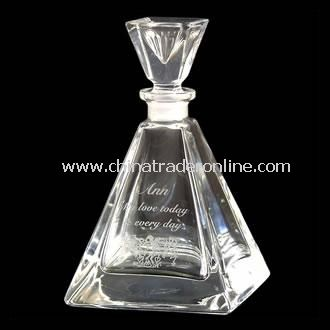 Personalised Crystal Perfume Bottle