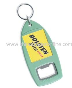 Recycled Bottle Opener Keyring