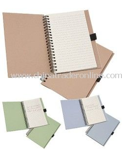 Recycled Spiral Bound Memo Pad