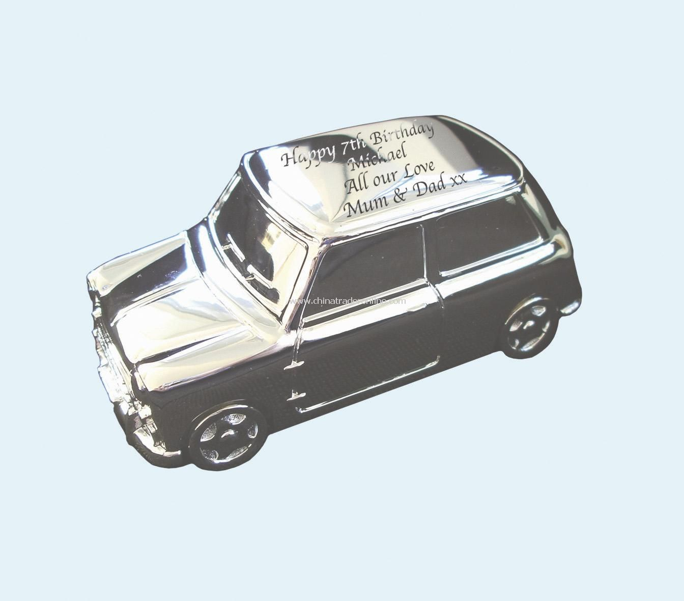 Silver Plated mini Money Box