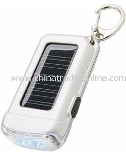 Solar Torch Key Chain