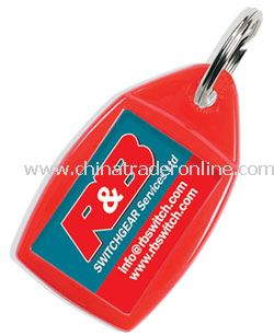 Value Recycled Keyring