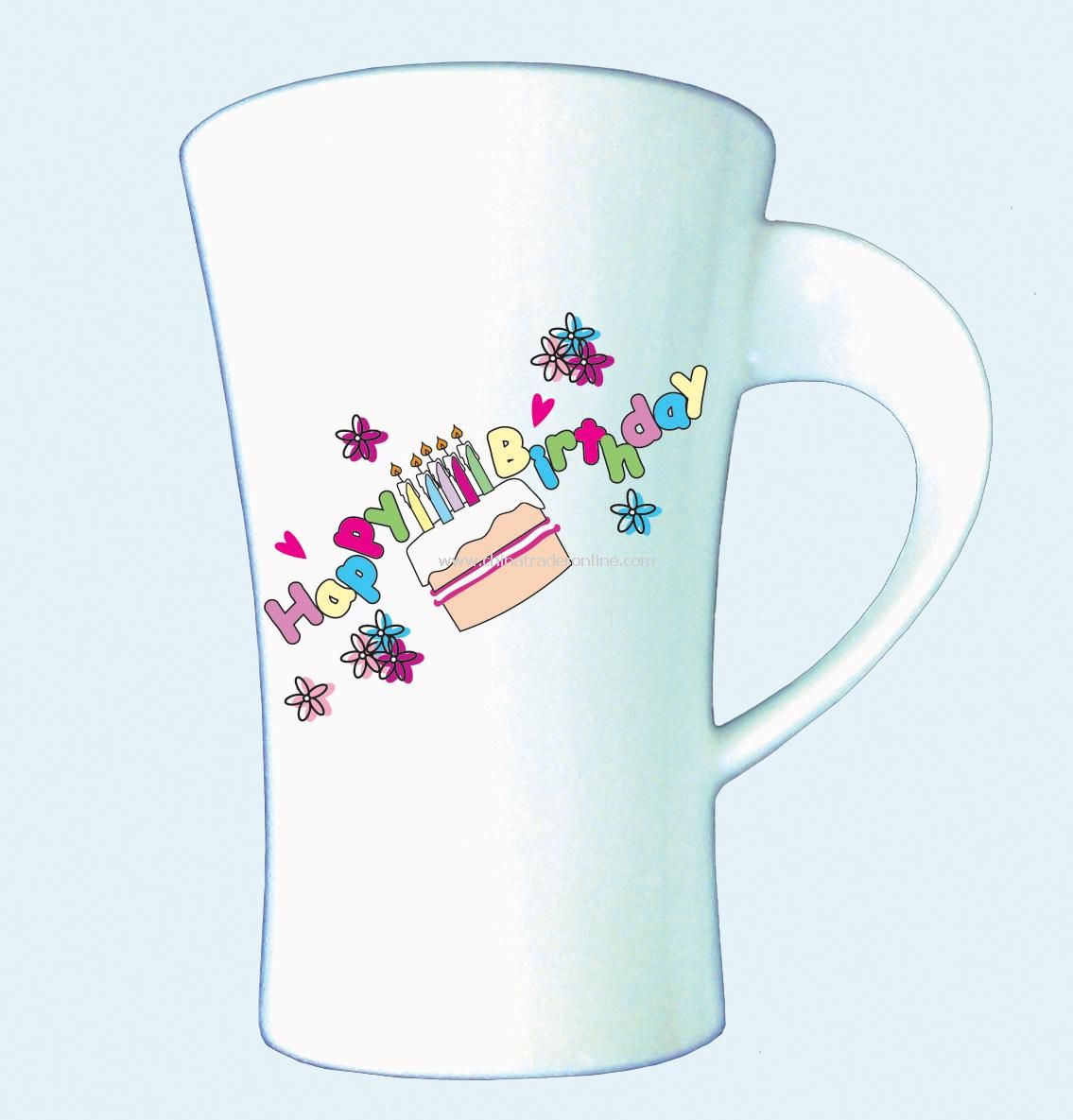 Birthday Cake Latte Mug
