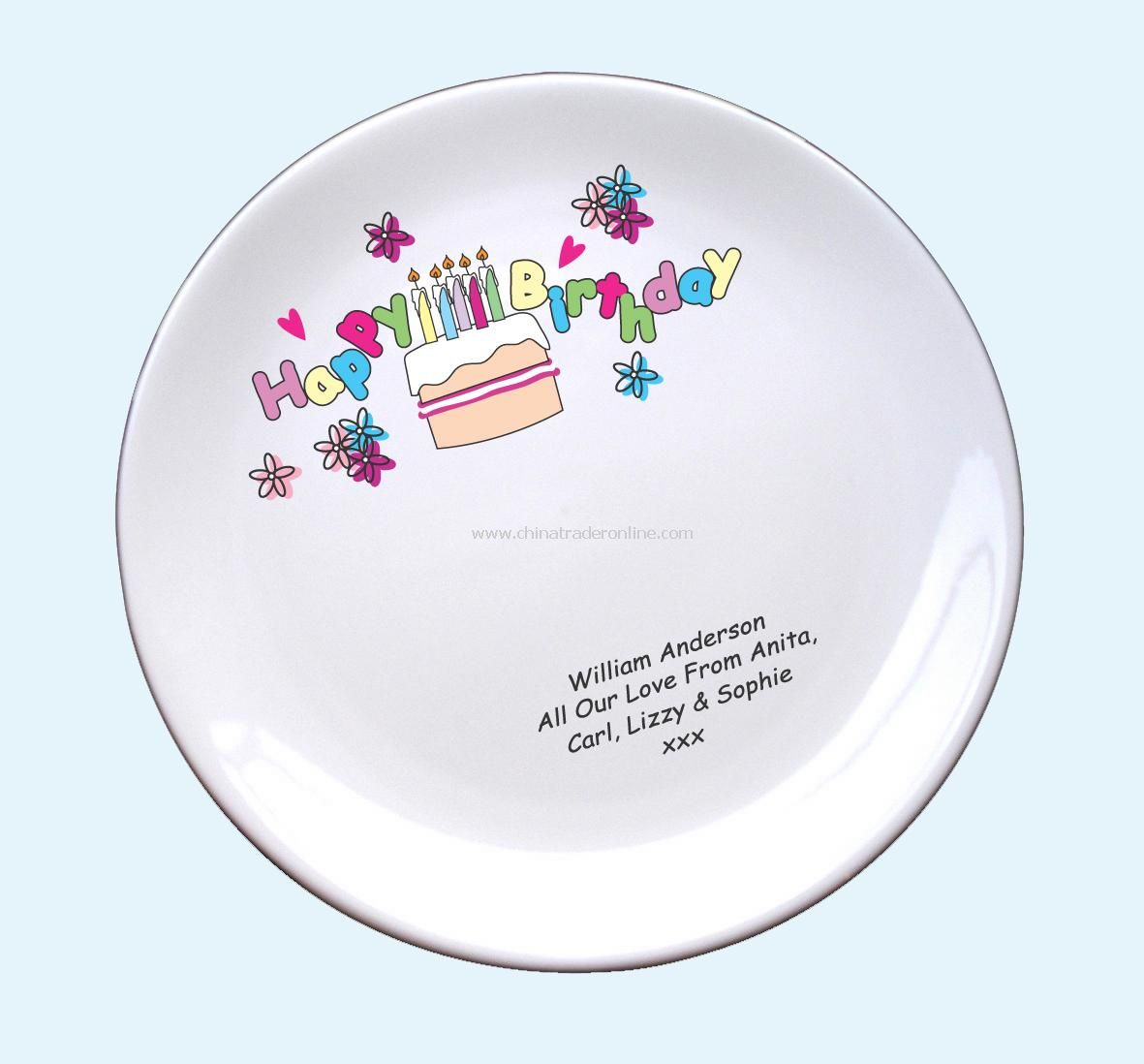 wholesale Birthday Cake Plate-buy discount Birthday Cake Plate made ...