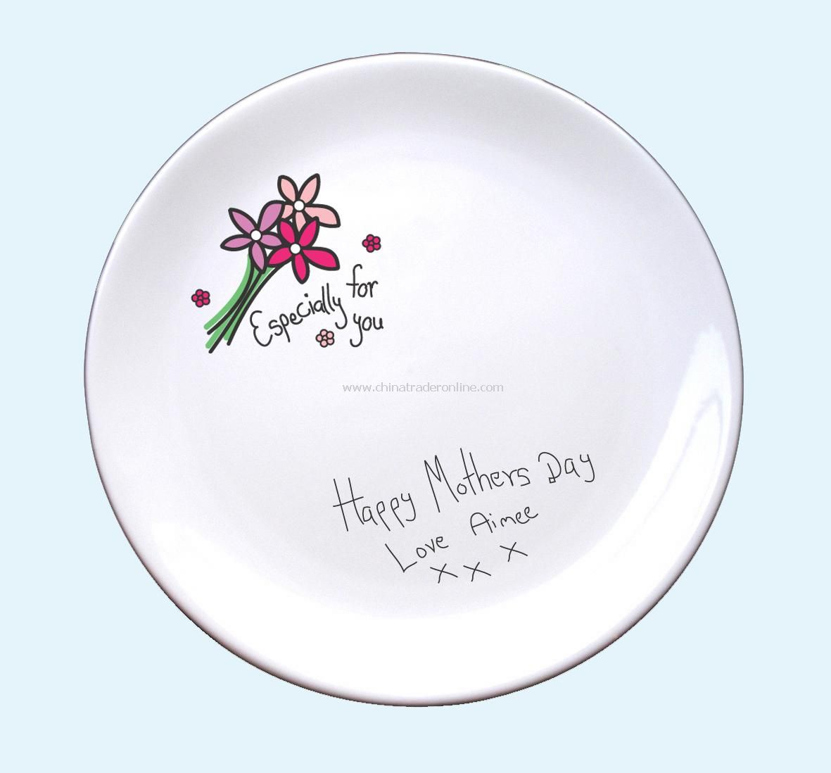 Especially For You Signature Plate