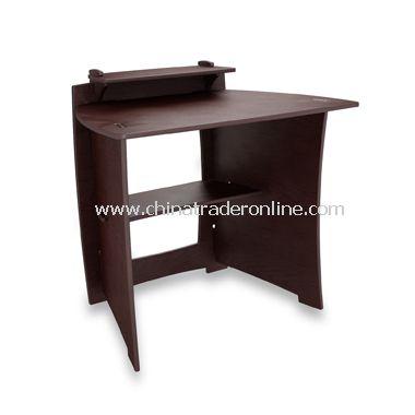 Espresso Desk with PDA Shelf