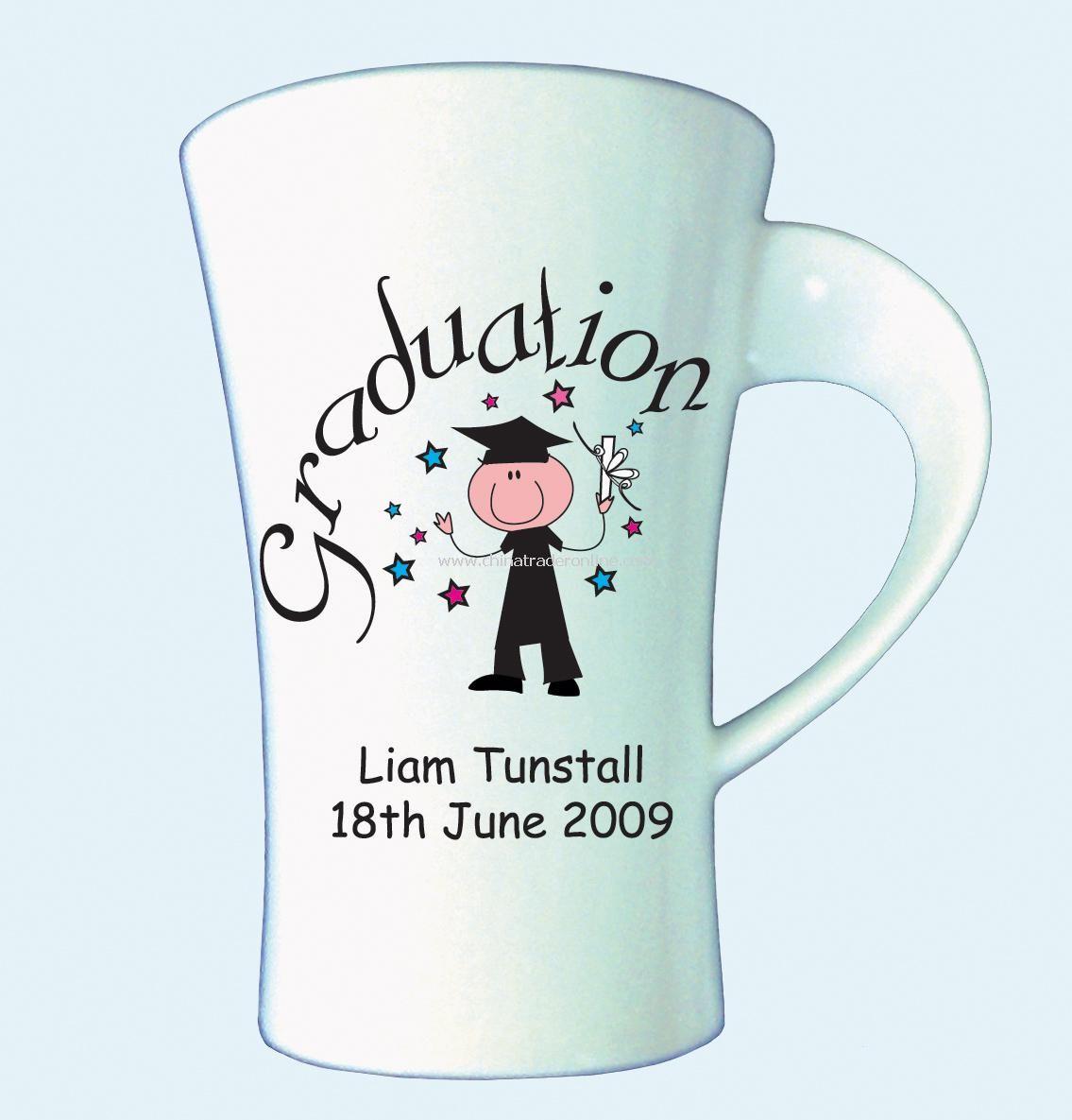Graduation Latte Mug