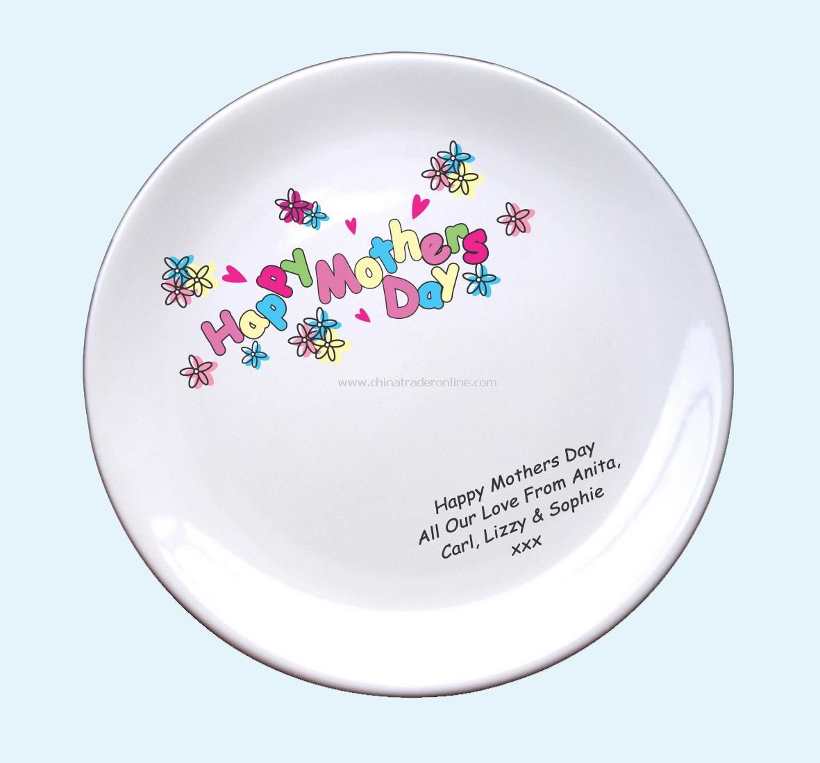 Hearts & Flowers Signature Plate